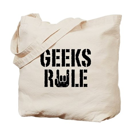 Geeks Rule Tote Bag
