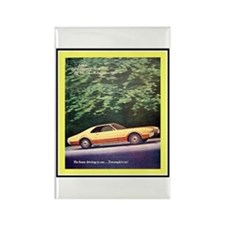 """1966 Toronado Ad"" Rectangle Magnet"