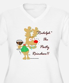 Sloshed Rudolph T-Shirt