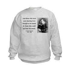 Nietzsche 38 Kids Sweatshirt