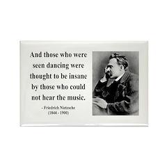 Nietzsche 38 Rectangle Magnet