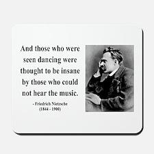 Nietzsche 38 Mousepad
