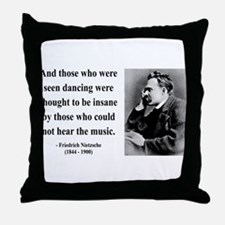Nietzsche 38 Throw Pillow
