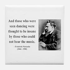 Nietzsche 38 Tile Coaster