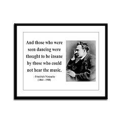 Nietzsche 38 Framed Panel Print