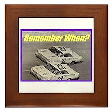 """""""Vintage Stocks"""" Framed Tile"""
