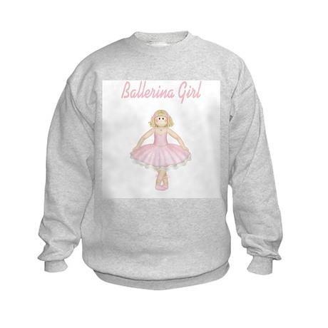 Ballerina Girl Kids Sweatshirt