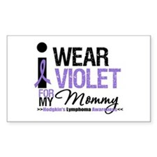 Hodgkin's Disease Mommy Rectangle Decal