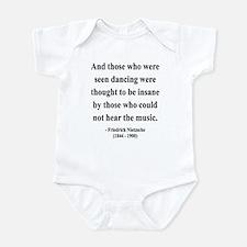 Nietzsche 38 Infant Bodysuit