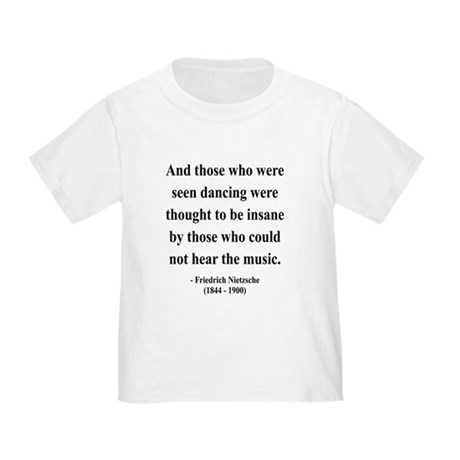 Nietzsche 38 Toddler T-Shirt