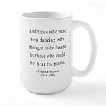 Nietzsche 38 Large Mug