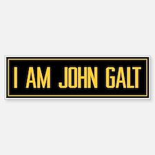 """I AM JOHN GALT"" Bumper Bumper Bumper Sticker"