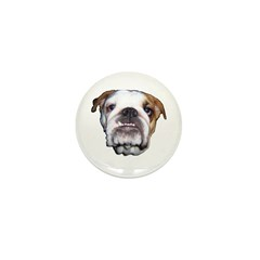 ENGLISH BULLDOG Mini Button (10 pack)