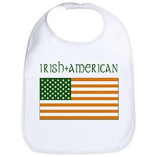 Irish-American Flag Bib