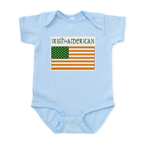 Irish-American Flag Infant Creeper