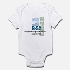 B-52 Bomber Military Aircraft Infant Bodysuit