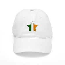 Irish-American Flag Star Baseball Cap
