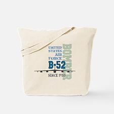 B-52 Bomber Military Aircraft Tote Bag
