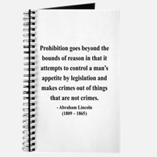 Abraham Lincoln 35 Journal