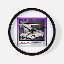 """""""1962 Avanti Ad"""" Wall Clock"""