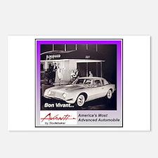 """1962 Avanti Ad"" Postcards (Package of 8)"