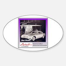 """1962 Avanti Ad"" Oval Decal"