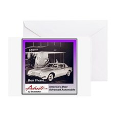 """1962 Avanti Ad"" Greeting Card"