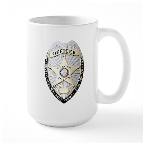 Aurora Police Large Mug