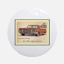 """1959 Olds Ad"" Ornament (Round)"