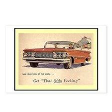 """""""1959 Olds Ad"""" Postcards (Package of 8)"""