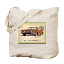 """""""1959 Olds Ad"""" Tote Bag"""