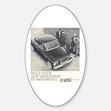"""1959 Studebaker Lark"" Oval Bumper Stickers"