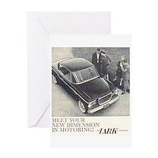 """""""1959 Studebaker Lark"""" Greeting Card"""
