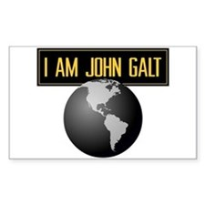 """I AM JOHN GALT"" Decal"