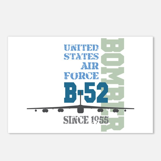 B-52 Bomber Military Aircraft Postcards (Package o