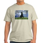 Lilies / Flat Coated Retrieve Light T-Shirt