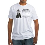 Henry David Thoreau 38 Fitted T-Shirt