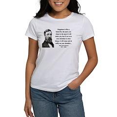 Henry David Thoreau 38 Women's T-Shirt