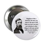 "Henry David Thoreau 38 2.25"" Button (100 pack"