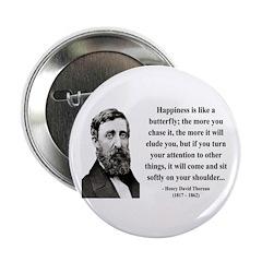 "Henry David Thoreau 38 2.25"" Button (100 pack"