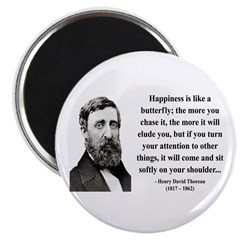 "Henry David Thoreau 38 2.25"" Magnet (100 pack"