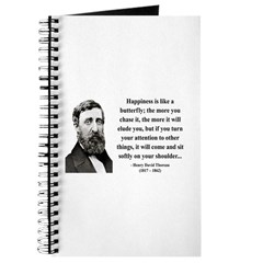 Henry David Thoreau 38 Journal