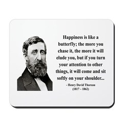 Henry David Thoreau 38 Mousepad