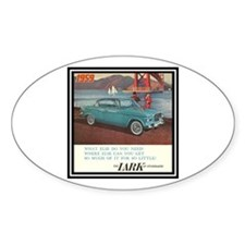 """1959 Lark Ad"" Oval Decal"