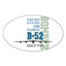 B-52 Bomber Military Aircraft Decal