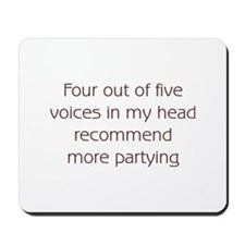 Recommend More Partying Mousepad