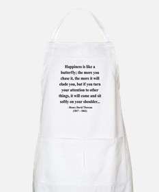 Henry David Thoreau 38 BBQ Apron