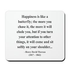 Henry David Thoreau 38 Mousepad