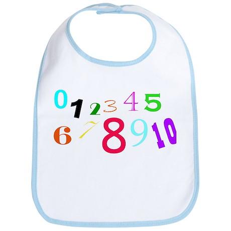 numbers Bib