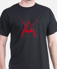 Red Sumo Black T-Shirt